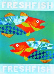 DSC_0024.jpg out the door art Fresh Fish