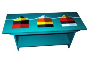 Buoy bench